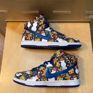 Nike Concepts X SB Dunk Pro High Ugly Sweaters
